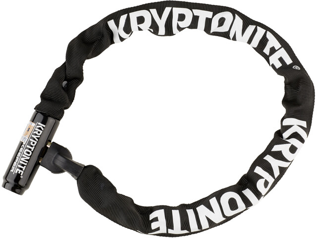 Kryptonite Keeper 785 Integrated Chain Kettenschloss schwarz
